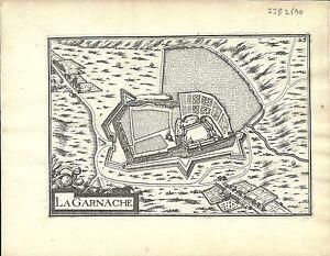 Antique-map-La-Garnache