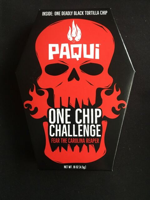 2019 Paqui One Chip Challenge: Carolina Reaper Madness