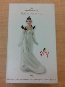 Hallmark-2012-Ornament-Gigi-Leslie-Caron-NIB
