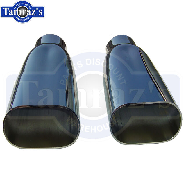 1969-1972 Chevelle SS Chrome Exhaust Tips Pair