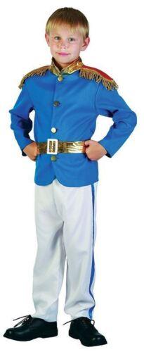 NEW ROYAL PRINCE BOY Costume Favola libro giorno settimana per Bambini Costume