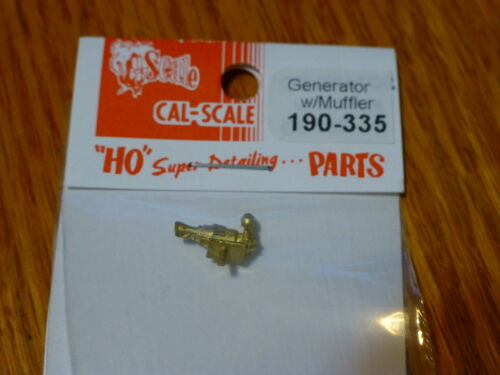 Brass Casting Cal-Scale HO #335 Steam Loco Electrical Generator With Muffler