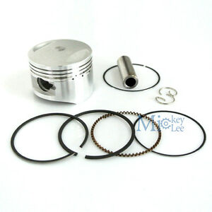 54mm-Piston-And-Ring-For-125cc-to-138cc-LIFAN-Dirt-Pit-Bike-Mini-Quad-ATV-Engine