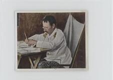 1937 Tobacco Base Eckstein Halpus Back #183 Dr Carl Peters Dr. Card 2h8
