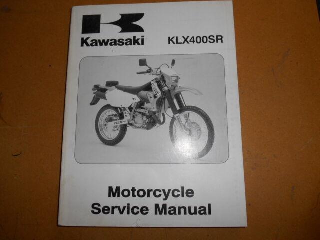 2003 Kawasaki Klx450sr Klx 450 Sr Factory Service Manual