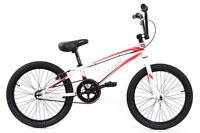 KHE DIRT Race Freestyle BMX Fahrrad JUMPER LIMITED Alu weiß rot nur 9,88kg!