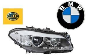 New-BMW-5-Series-F10-F11-Right-Reflector-Headlight-Headlamp-Light-Hella-D1S-H7