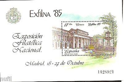 Spain  Edifil # 2814 ** MNH Exposicion Filatelica Nacional EXFILNA 85