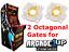 thumbnail 1 - Arcade1up Mortal Kombat 2 Final Fight Street Fighter 2 Circle Octagon Gates
