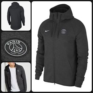 1762b62f4 Image is loading Nike-PSG-Paris-Saint-Germain-Tech-Fleece-Windrunner-