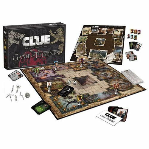 Usaopoly  Game of Thrones Clue  jeu de société Mystery double face a Westeros