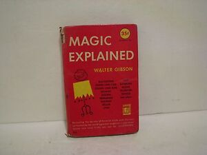 Magic-Explained-by-Walter-Gibson-Permabooks-1949