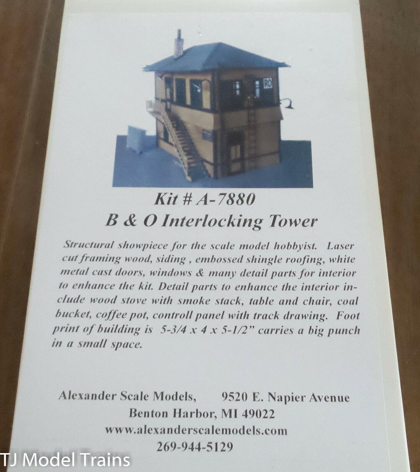 autorización Alexander Escala Ho  A-7880 A-7880 A-7880 B & O Torre de enclavamiento  se descuenta