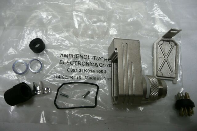 NIB Amphenol Tuchel C091 31D005 100 2 Circular DIN Connectors .. EACH