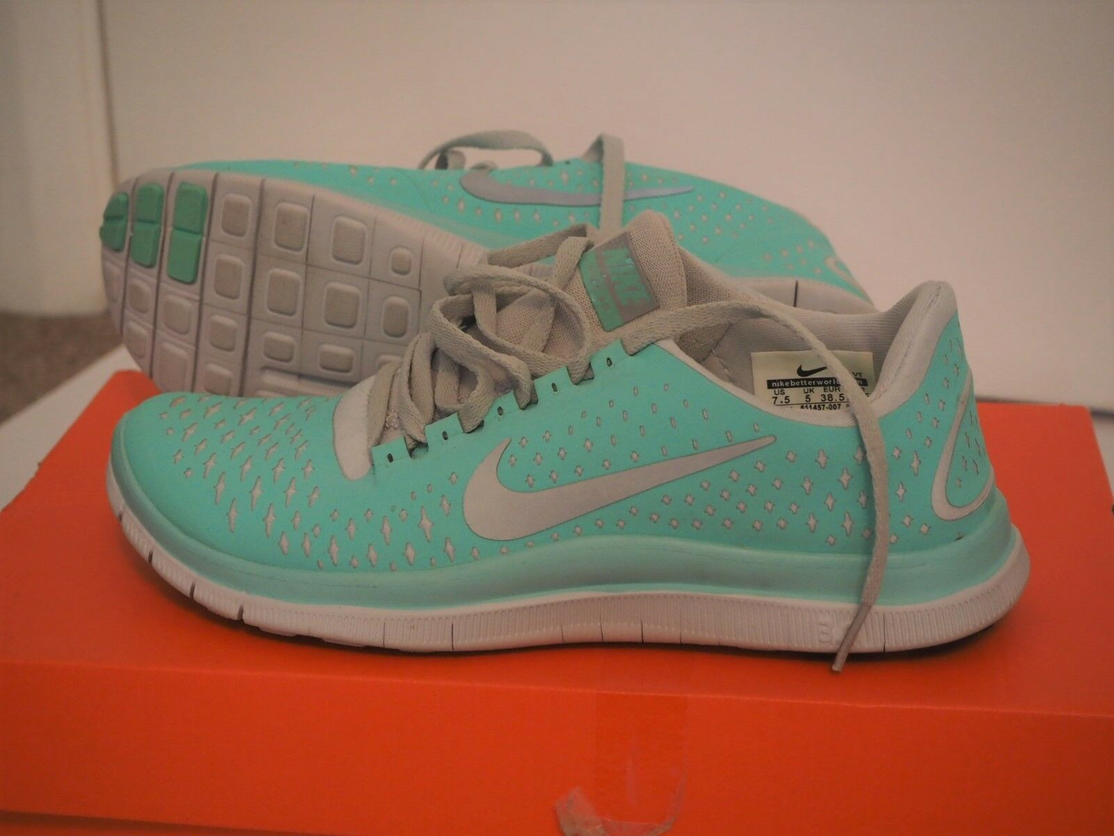 huge selection of 7e50f 89b32 femmes Nike Free 3.0 Mint Green UK
