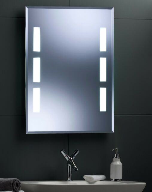Illuminated Bathroom Wall Mirror With Long Life Led Lighting 80x60 Cm Yj533 For Sale