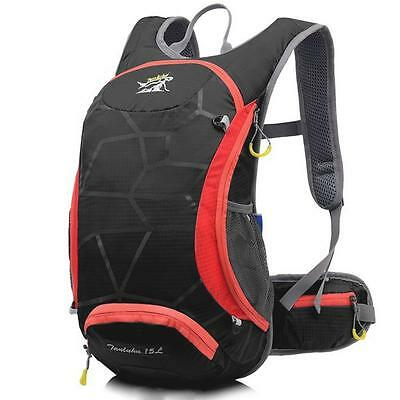 15L Waterproof Outdoor Backpack Cycling Running Hiking Water Bag Bicycle Packing