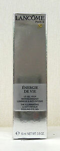 Lancome-Energie-De-Vie-Illuminating-Cooling-Eye-Gel-15ml-BNIB-SEALED