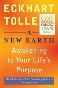 A new earth awakening to your lifes purpose by eckhart tolle a new earth awakening to your lifes purpose by eckhart tolle 2008 uk paperback unabridged fandeluxe Choice Image