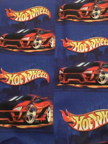 Hot Wheels Fabric Poly Cotton 1m x 1.4m