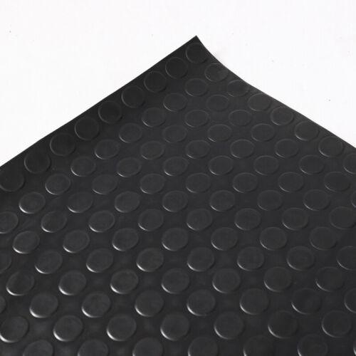 1.2//1.5m Wide Garage Rubber Floor Matting Penny Coin Pattern Anti Slip Mat Roll