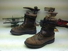 DISTRESSED RED WING IRISH SETTER MADE IN USA WESTERN ENGINEER CHORE BOOTS 10 EE