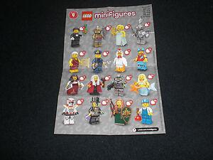 Lego-Beipackzettel-Minifiguren-Serie-9