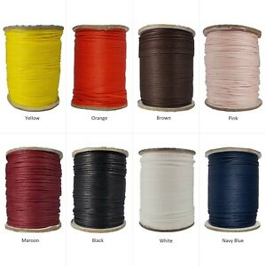 Jewelry-Making-Cord-Waxed-Cotton-1-Roll-String-1-mm-Beading-DIY-Craft-Projects