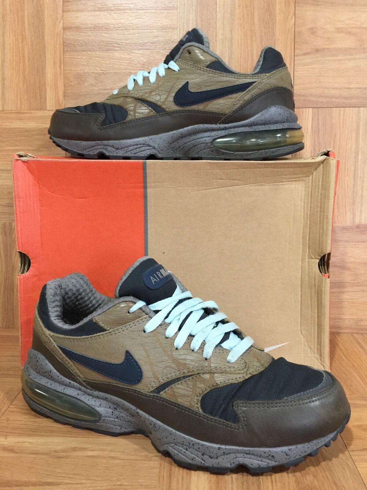 RARE Nike Air Bust Premium Stable Obsidian Fog Iron 10.5 308614-141 Navigation