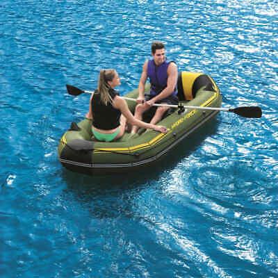 Eariy Schlauchboot,Camouflage 4-Personen 10FT Schlauchboot Boot,Ruderboot Paddelboot Gummiboot,700 Pfund Kapazit/ät,Einfach zu Falten,f/ür Angeln Rafting Wassersport