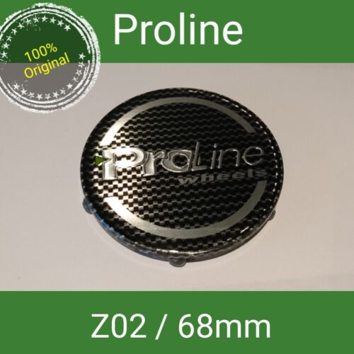 ProLine//plw carbon tapacubos tapa llantas 69 mm 1 z02 St.