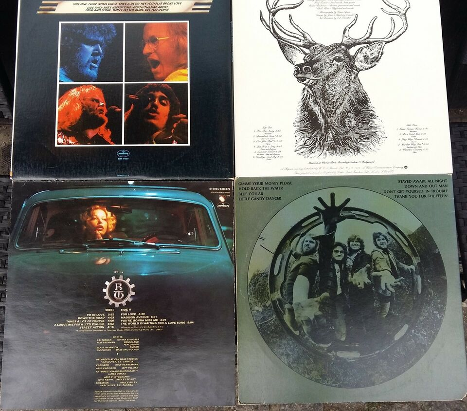 LP, Bachman Turner Overdrive, Samling