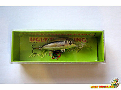 New in Box Ultra-light lure fishing Lot of 2 Ugly Duckling Lure Balsa Wood