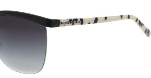 Dolce /& Gabbana D/&G Womens Sunglasses 2104 01//8G Black Frame New