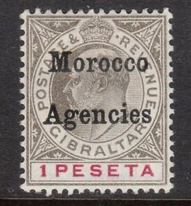 Great-Britain-Offices-In-Morocco-25-VF-Mint