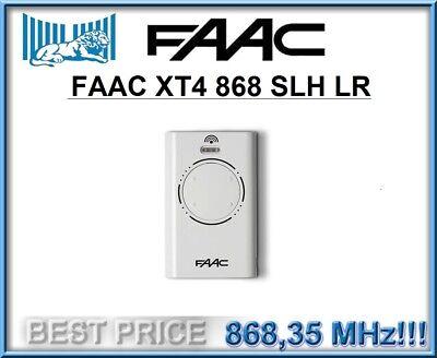 Mando FAAC XT4 868 SLH