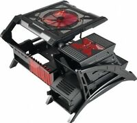 Aerocool Open Frame Design Pc Cases Strikex-air Black/red