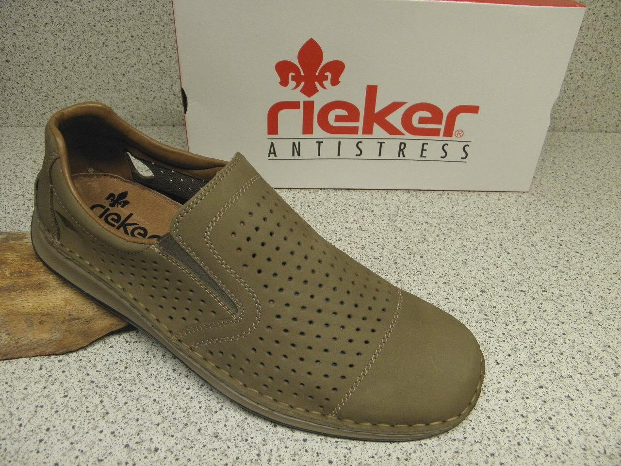 rieker ® SALE,  Slipper   Top Preis + gratis Premium - Socken 05286-64 (R257)
