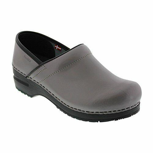 Sanita Women/'s Professional PU Leather Clogs