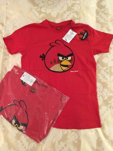 Official Angry Birds Movie T-shirt 7//8 Years
