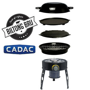 cadac safari chef bbq braai portable gas grill bbq camping stove ebay. Black Bedroom Furniture Sets. Home Design Ideas