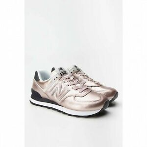 new balance 574 donna metallic