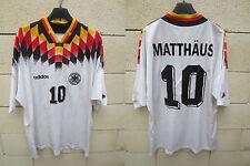 VINTAGE Maillot ALLEMAGNE DFB trikot DEUTSCHLAND shirt Adidas WC 1994 MATTHAÜS