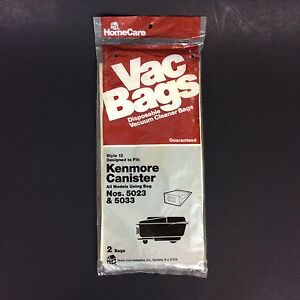 Homecare-2-Pack-Vacuum-Bags-for-Kenmore-Canister-No-5023-5033
