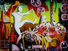 MARK + PAUL KOSTABI 2013 Celebration of one HAND SIGNED NUMBERED 45/50 URBAN ART