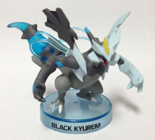 "Pokemon 2"" Black and White: Plasma Storm ""Black Kyurem"" Miniature Figure w Base"