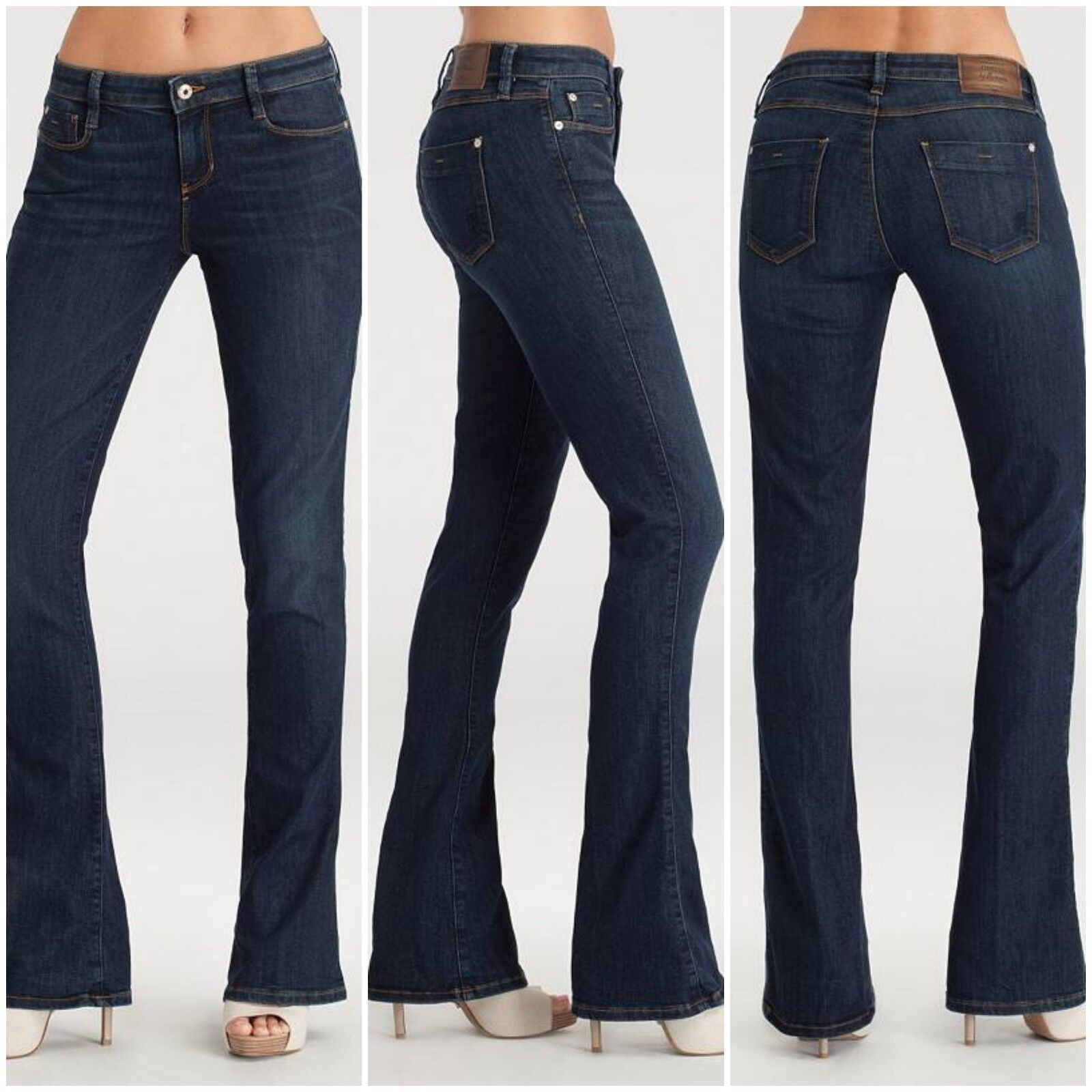 NWT Guess by Marciano Mini Flare Jean size 24