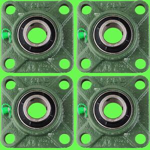 4-pz-UCF205-Cuscinetto-flangiato-4-fori-Cuscinetto-con-bloccaggio-25-mm-Albero