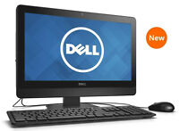 """NEW DELL 20"""" LED 2.20GHz DUAL CORE 8GB 1TB WINDOWS 7 PRO ALL-IN-ONE PC + OFFICE"""