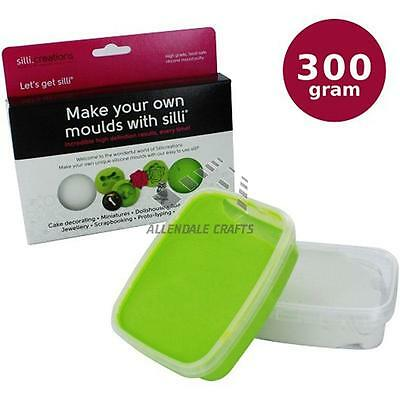 SilliCreations Silicone Modelling Putty 300g, Make your Own Custom Mold Models